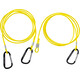 Swimrunners Hook-Cord Pull Belt 3 meter Neon Yellow